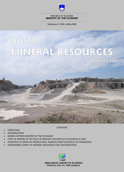 Mineral Resources in 2007