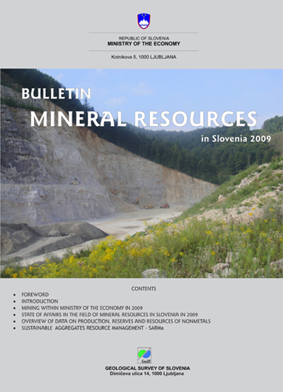 Mineral Resources in 2009