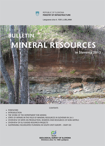 Mineral Resources in 2014