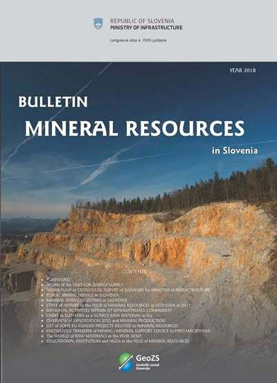 Mineral Resources in 2018